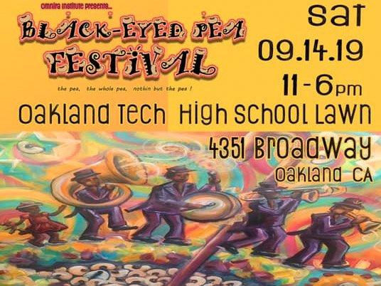 2019 Black-Eyed Pea Festival Oakland, CA